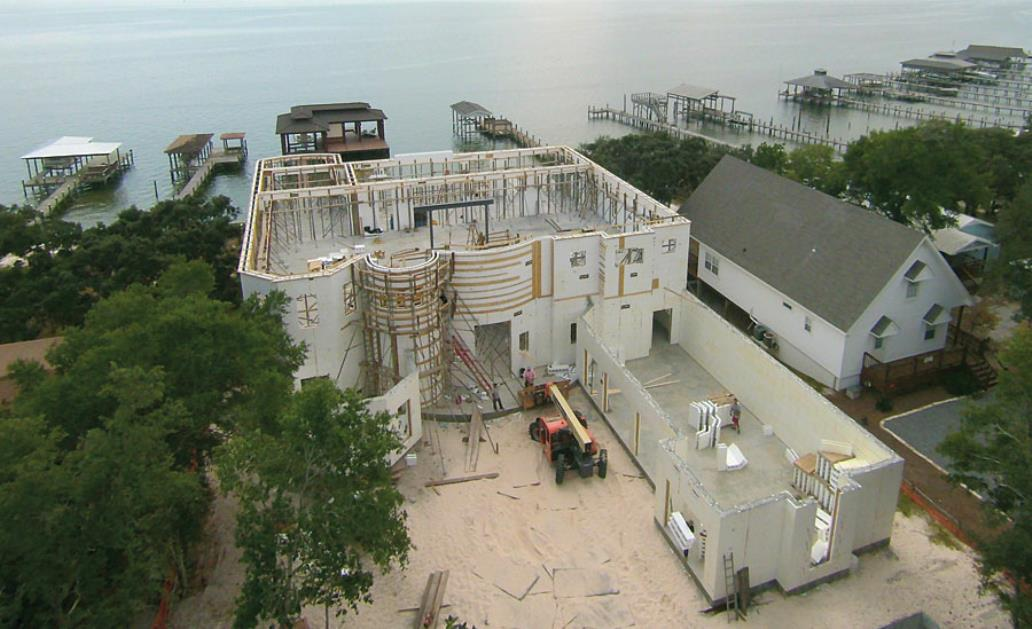 Westgate Construction Utilizing Insulated Concrete Forms To Build An ICF Concrete Home in New Jersey